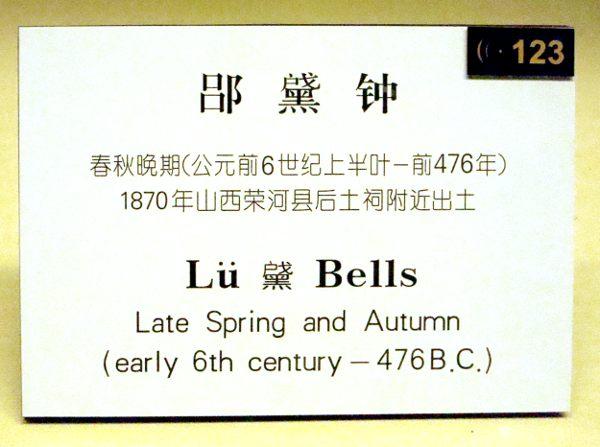 Un carattere cinese dalla pronuncia sconosciuta, museo di Shanghai