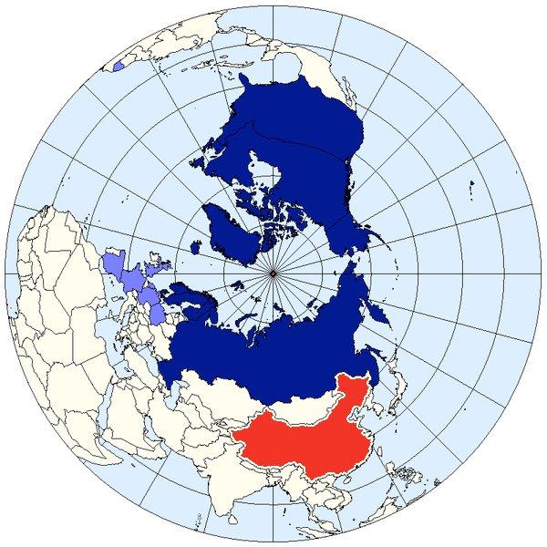 La posizione dei Paesi del Concilio Artico e della Cina