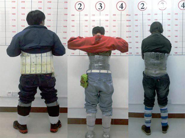 Traffico di iPhone in Cina, la foto