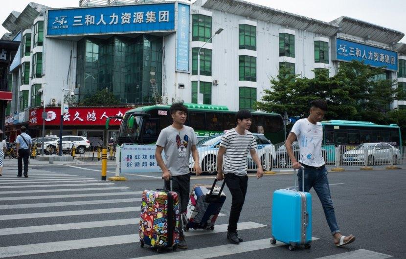 Shenzhen, il mercato di Sanhe