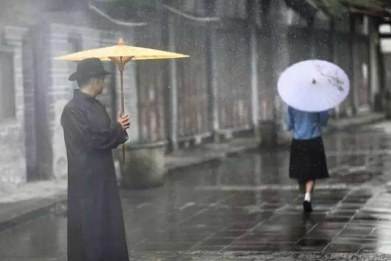 Pioggia in Cina